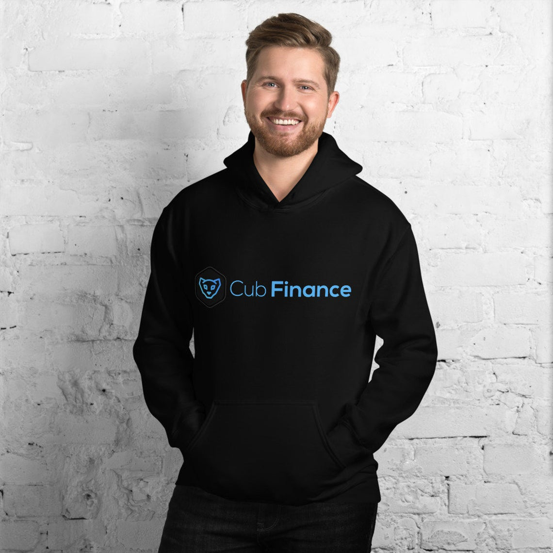 CubFinance CUB Unisex Hoodie - LeoFinance Crypto Hooded Sweater - Now Available in 11 Color Options