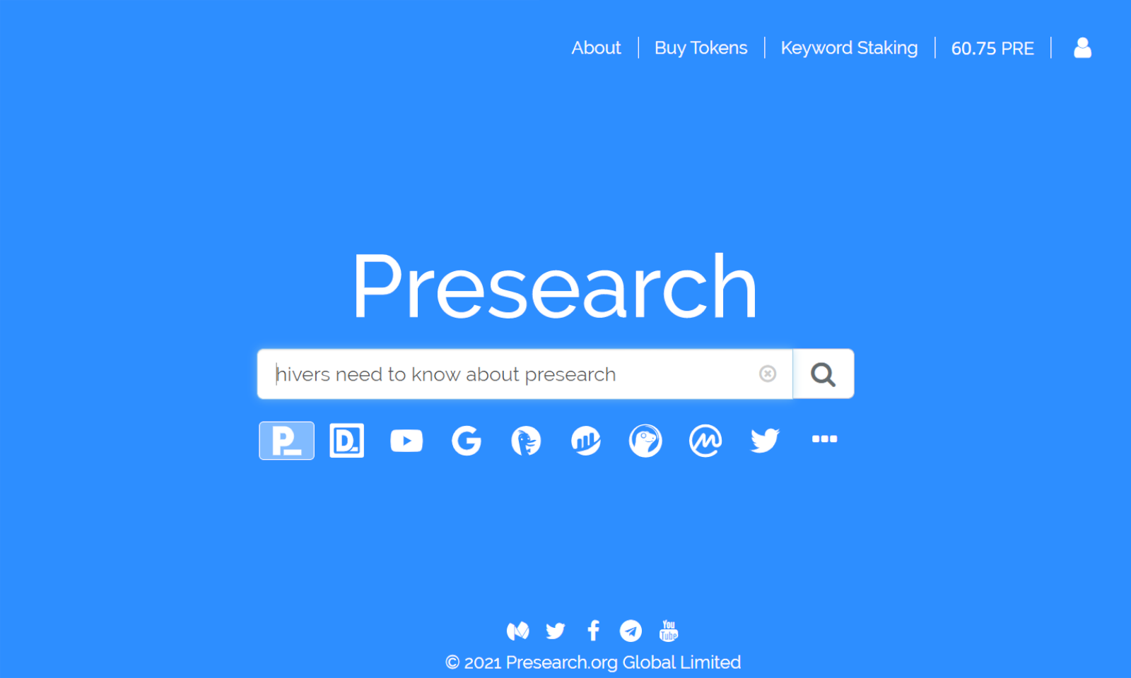 Presearch.org 👨‍💻 Earn Free Crypto For Your Web Searches (I Average $0.57 per day)