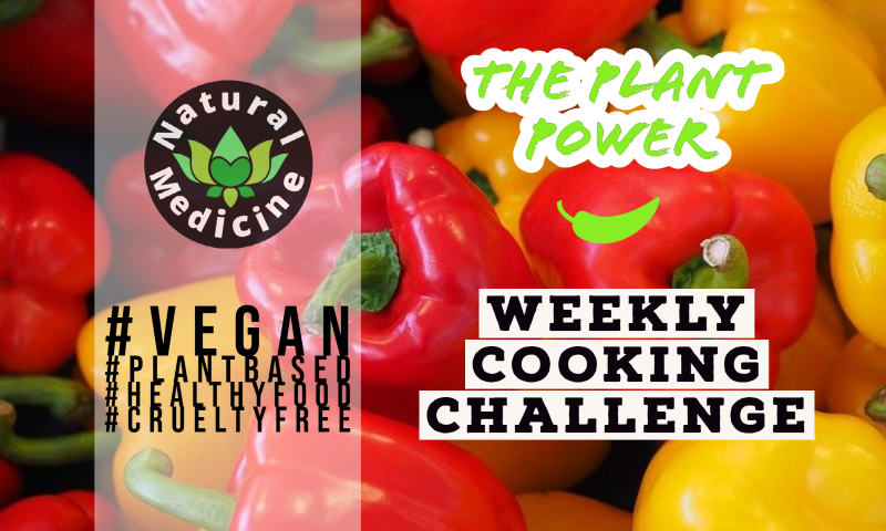 JOIN OUR HEALTHY FOOD CHALLENGE! | The Plant Power Weekly Cooking Challenge
