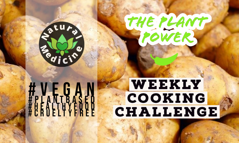 Plant Power Cooking Challenge | Week #4 | Come Join Us!!