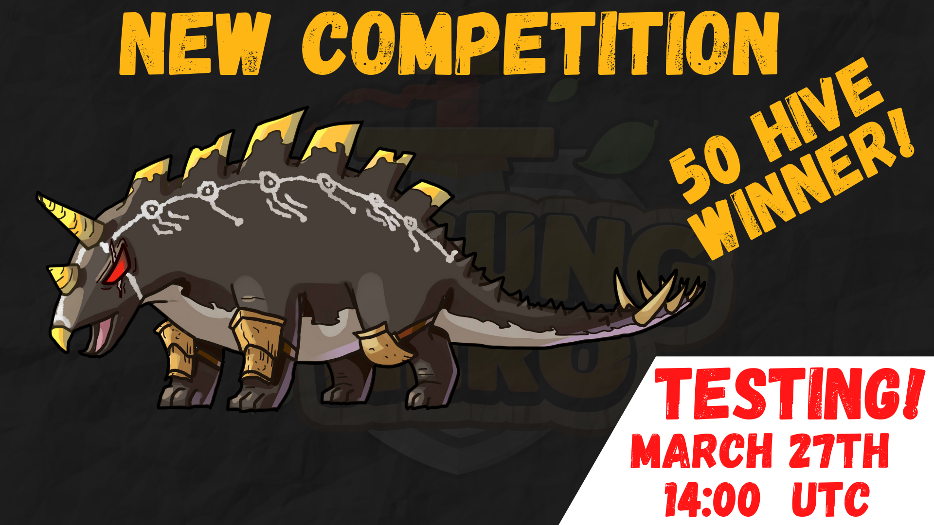 Winners! | Competition #8 | Area/Monster Design | 50 HIVE Prize! | TESTING TIME!
