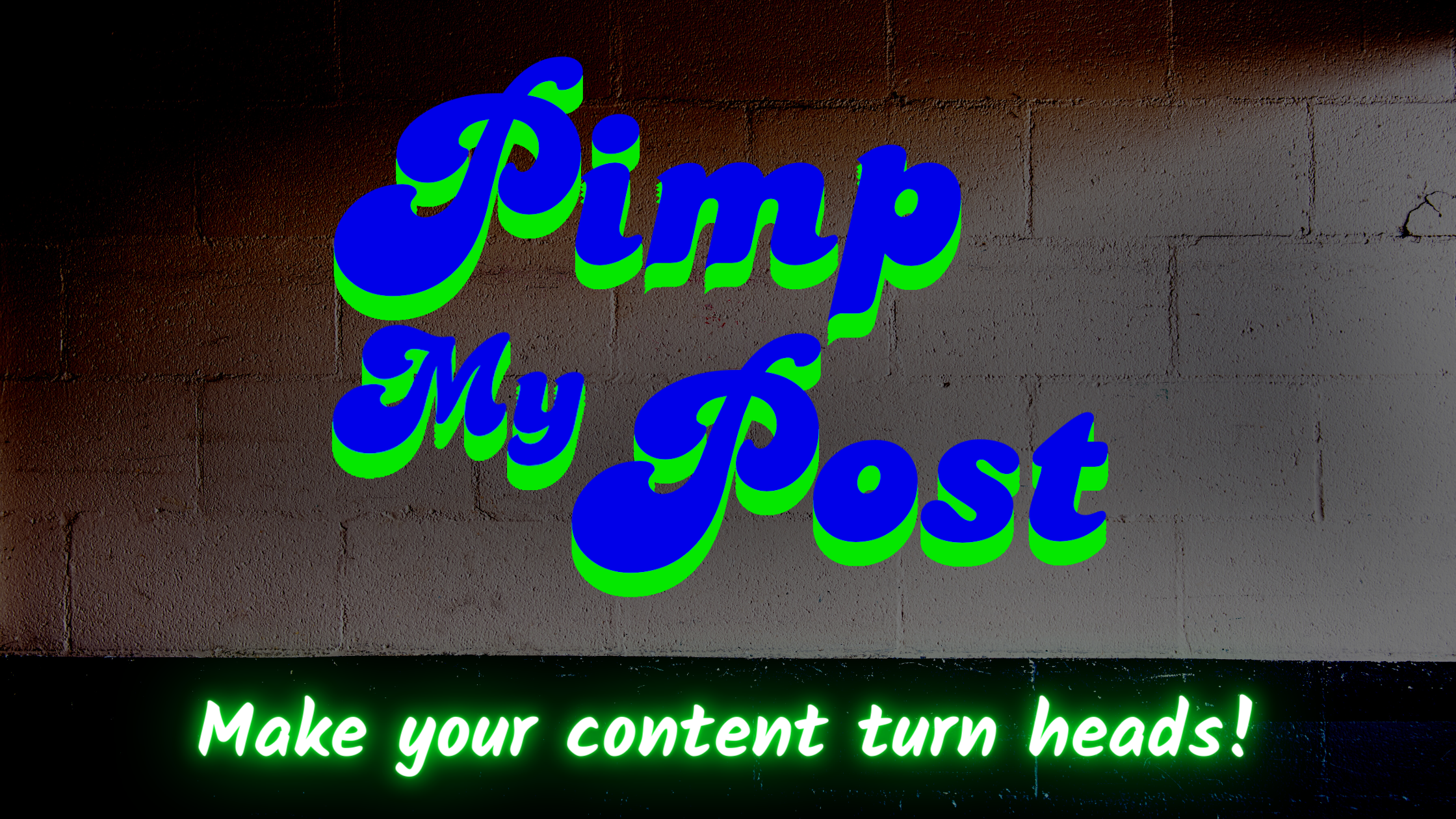 Pimp My Post | Professional English Proofreading, Editing and Post Formatting Services